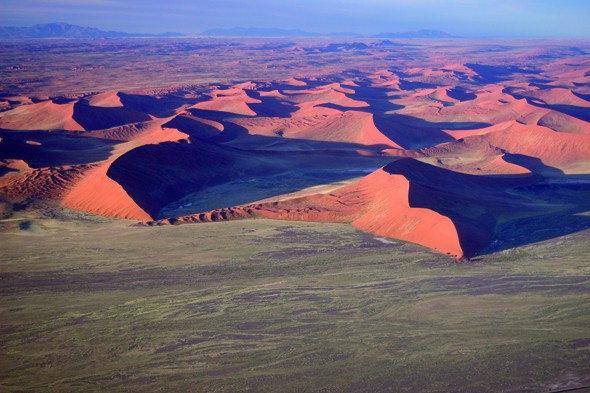 Be amazed by the magnificent dunes of the Namib Desert