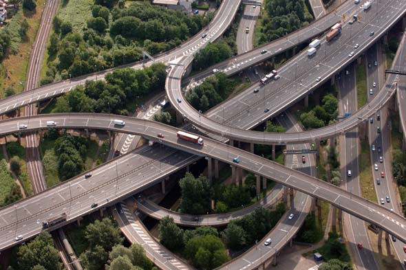 Are these Britain's scariest roads?