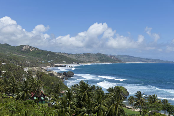 Take in the views at Bathsheba