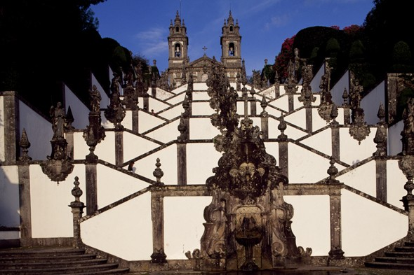 Monumental steps of Bom Jesus do Monte, Braga