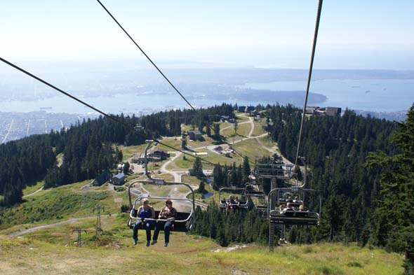 Spend the day at Grouse Mountain