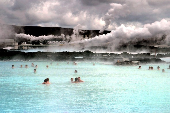 Take a dip in Iceland's Blue Lagoon