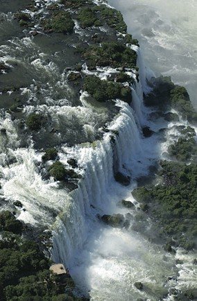 Get sprayed at Iguazu Falls