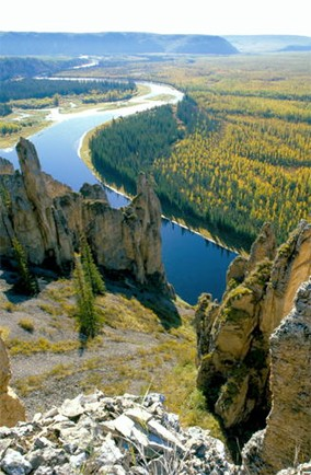 Lena Pillars Nature Park, Russia