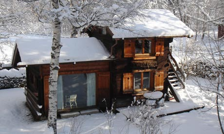 The sweet little chalet