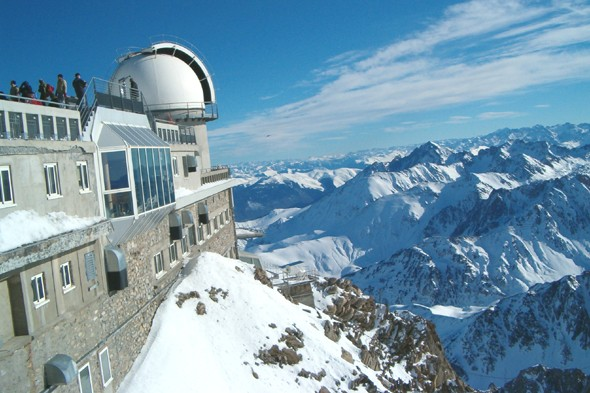 Stand at the top of the Pic du Midi