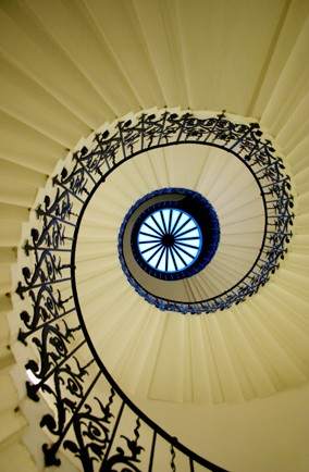 Tulip Stairs at the Queen's House, Greenwich