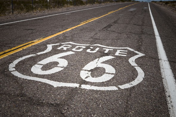 Feel the freedom of an American road trip on Route 66