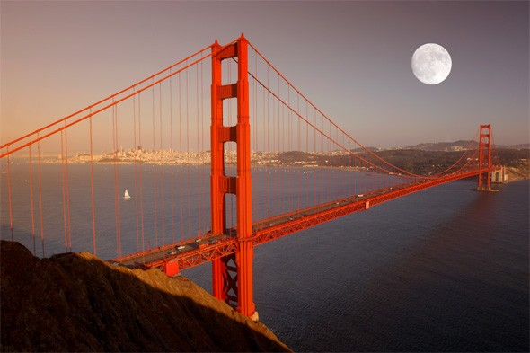 Cycle across San Francisco's Golden Gate Bridge