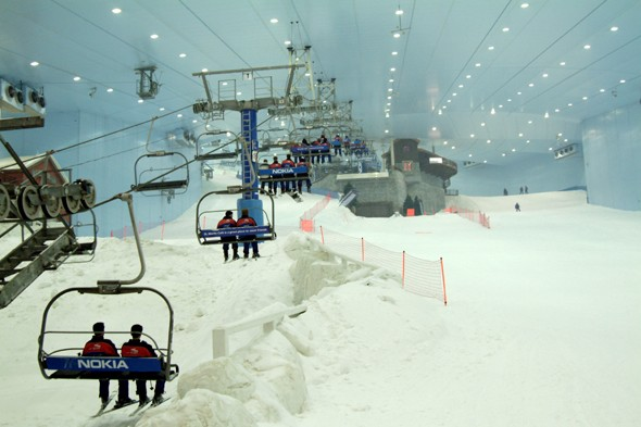 Ski Dubai, UAE