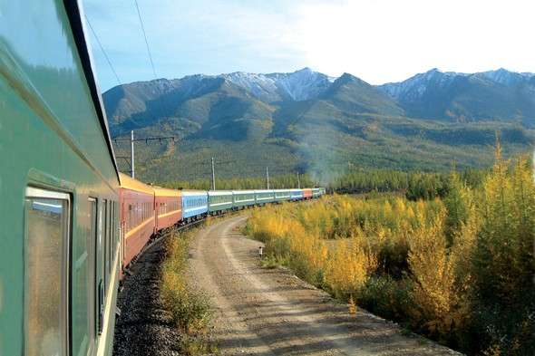 Ride the Trans-Siberian railway