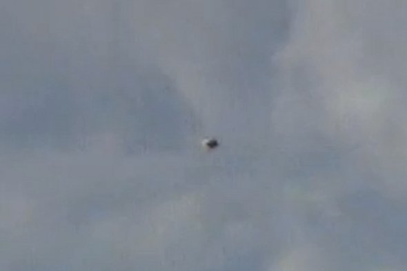 Watch: News crew baffled by UFO footage