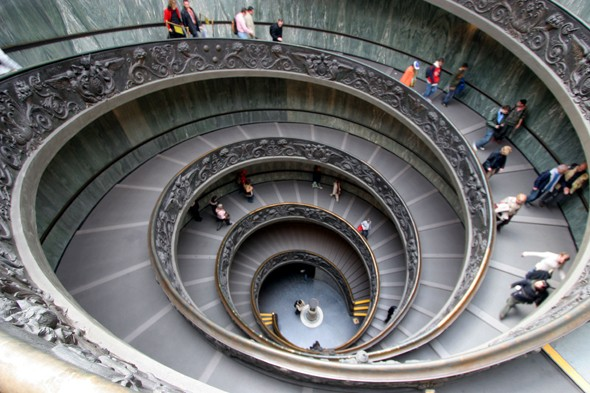 Simonetti Staircase at the Vatican Museums, Vatican City