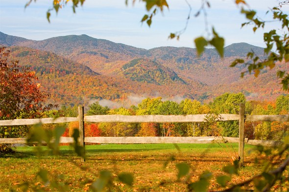 See breathtaking Vermont during leaf-peeping season