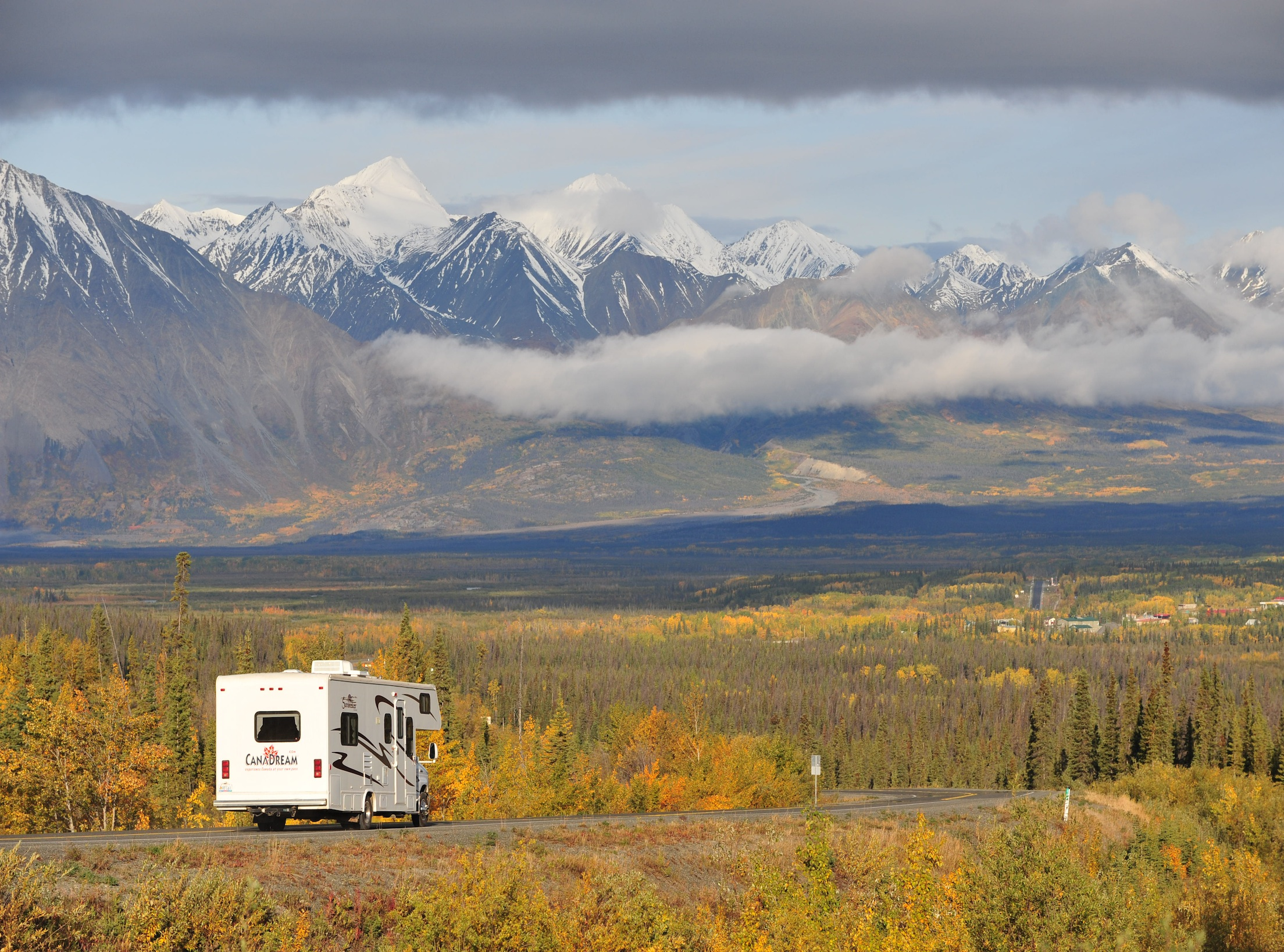 Stay in a motorhome in Whistler