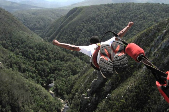 Do the highest bungee jump in the world