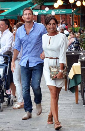 Frank Lampard and Christine Bleakley's romantic trip to Italy