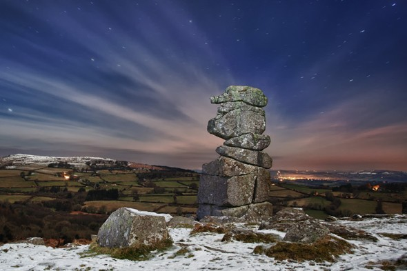 Under the Stars, Bowerman's Nose, Dartmoor, Devon, England