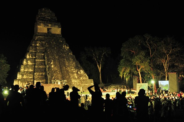 Mayan temple damaged in tourist 'end of the world' parties