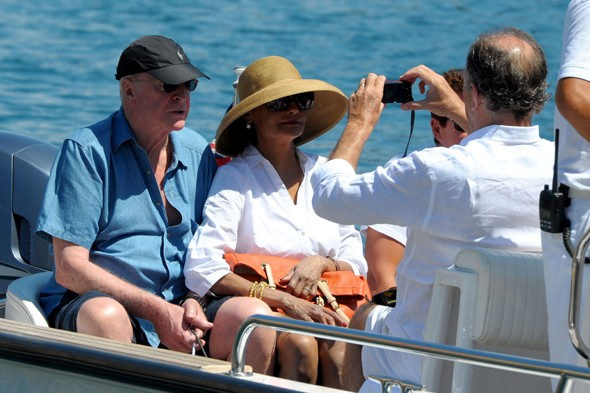 Michael Caine and Shakira's glam escape in Portofino