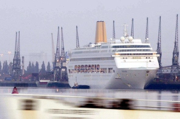 'Mutiny' after 150 passengers hit with vomiting bug on P&O cruise