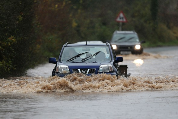 After snow and ice, torrential rain to cause more flood chaos next week?