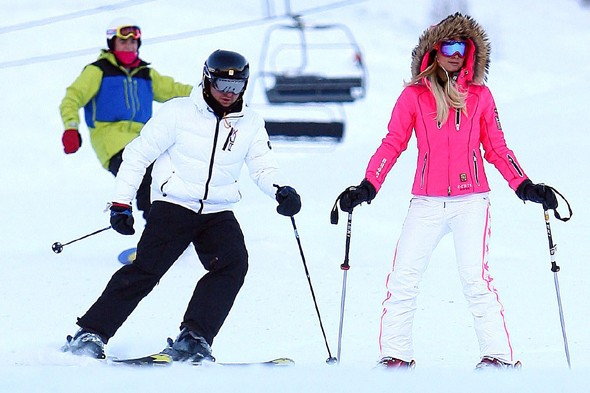 Celebrities hit Aspen for Christmas ski holidays