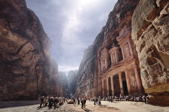 Visit the ancient city of Petra