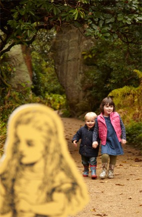 Follow Alice to Wonderland at Belsay Hall