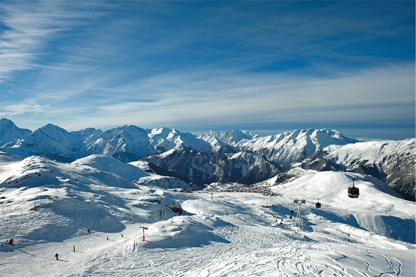 Treat the family to fun and affordable skiing in the French Alps