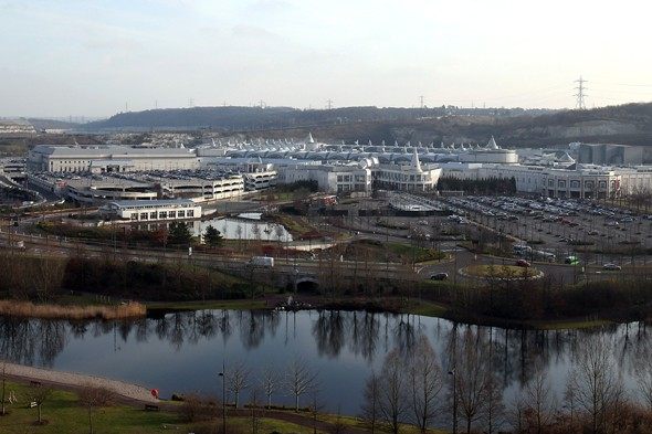 Star Wars VII to be filmed at Bluewater shopping centre?