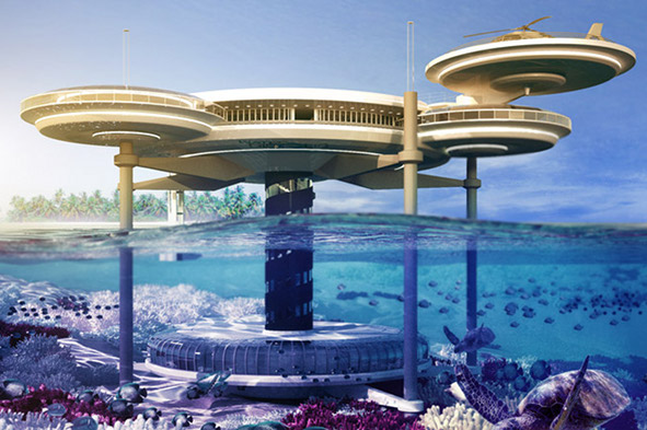 Dubai plans to build world's biggest underwater hotel