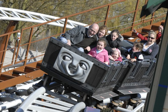 Meet Thomas and friends at Drayton Manor