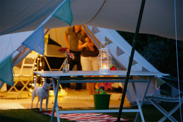 Go glamping in the Isle of Wight