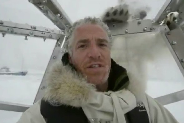 Video: Terrifying moment BBC cameraman becomes target of hungry polar bear