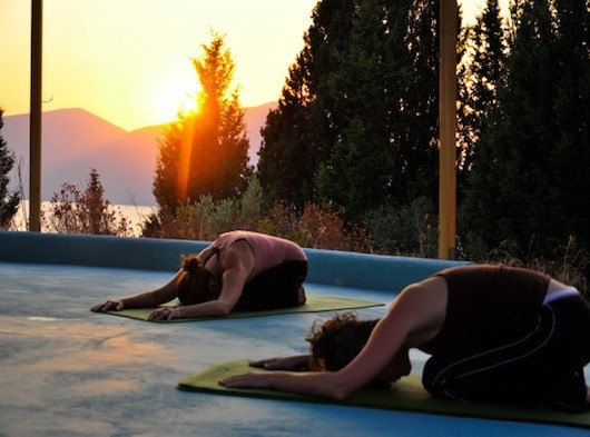 Yoga in Greece