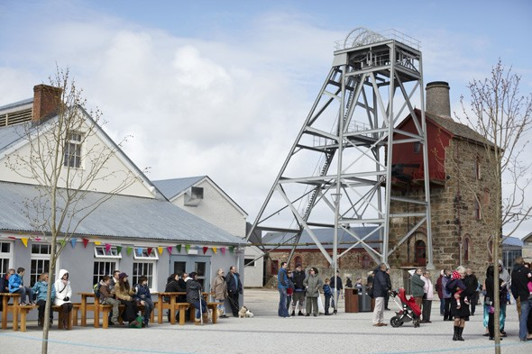 Visit a new attraction at a former mining site in Cornwall