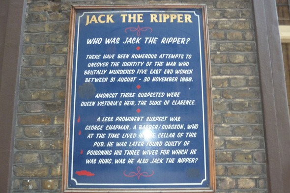 Learn about London's horrible histories on a Jack the Ripper walk