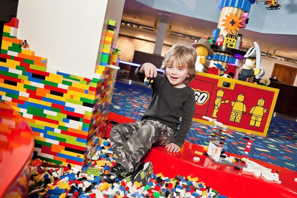 Become a model builder at LEGOLAND Windsor Resort Hotel