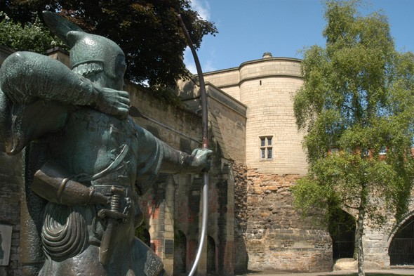 Listen to Robin Hood's tales at Nottingham Castle