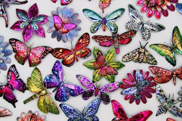Create beautiful bugs and butterflies at Portsmouth City Museum