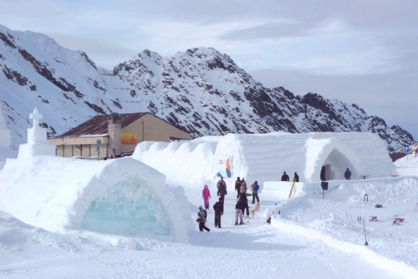 Stay at an affordable ice hotel in Romania