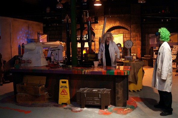 Science as you've never seen it at the Royal Gunpowder Mills