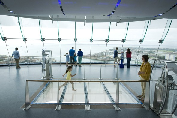 Adults pay kids' prices at the Spinnaker Tower