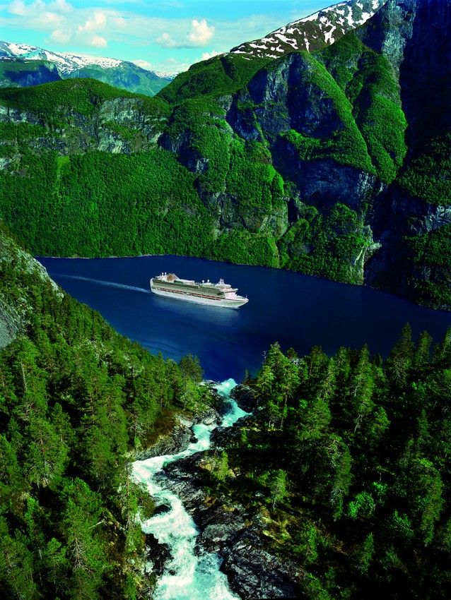 Visit the Norweigian Fjords aboard the Ventura