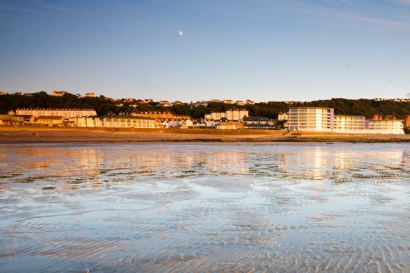 Woman found dead on north Devon beach