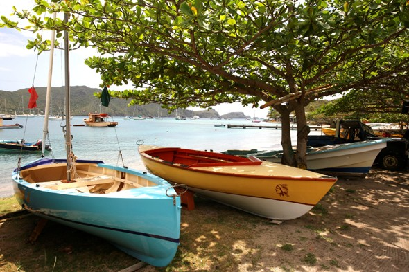 See the boat racing in St Vincent and the Grenadines