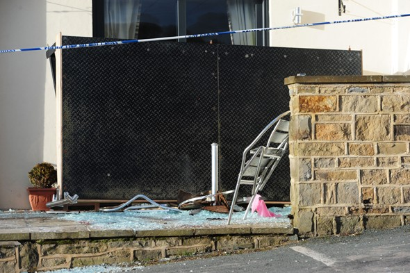 Bride-to-be injured when hotel balcony collapses