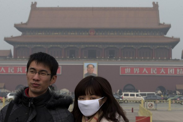 Trouble with Toxic Fog? Try China's Fresh Air in a Can