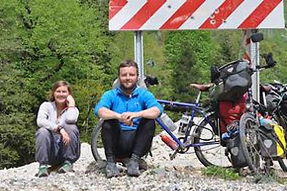 British couple on round-the-world cycling trip killed on road in Thailand
